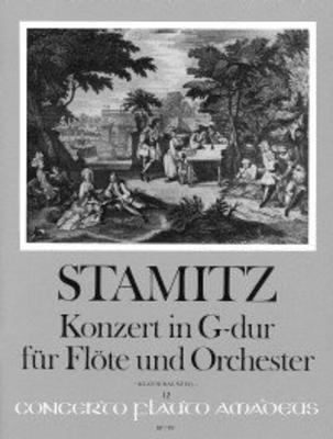 Konzert G-dur op. 29 – Klavierauszug mit Solostimme / Carl Philipp Stamitz / Rien de Reede / Willy HESS / Amadeus