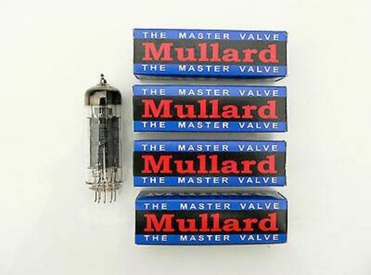 Mullard EL84/QUAD FACTORY MATCHED