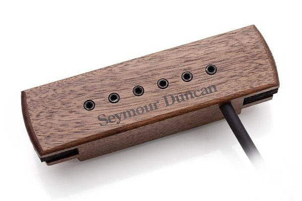 Seymour Duncan Seymour Duncan Woody XL Hum Cancelling with adjustable Pole Pieces – Walnut