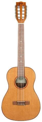 Kala KA-ABP8-CTG – Solid Cedar Acacia Baritone 8-String Ukulele