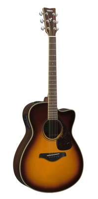 Yamaha Guitars FSX830C Brown Sunburst