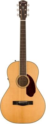 Fender PM-2E Standard Parlor Ovangkol Fingerboard Natural