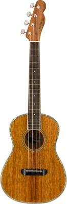 Fender Montecito Tenor Ukulele Walnut Fingerboard Natural