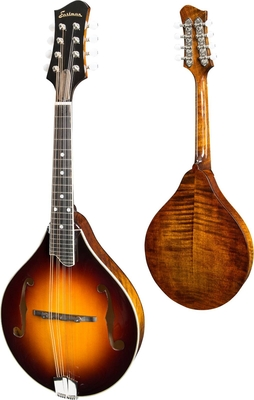 Eastman MD505 Classic Sunburst A-Style With F-Holes