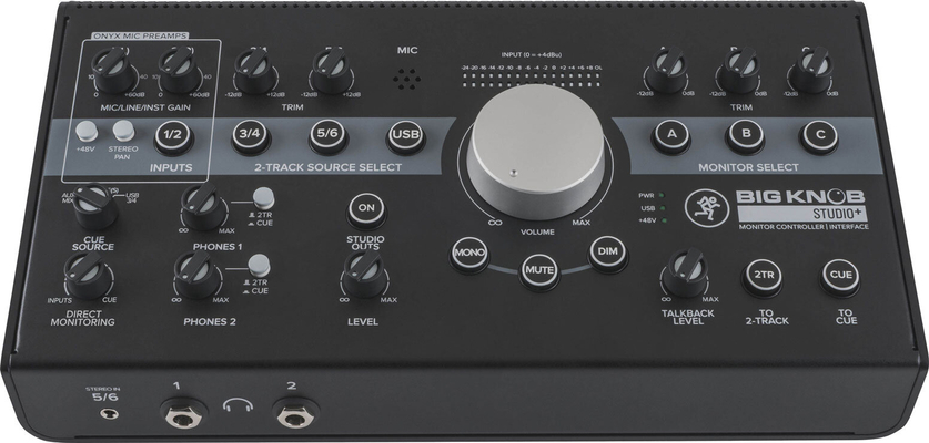 Mackie Big Knob Studio + – contrôleur de monitoring & Interface audio
