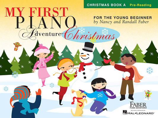 Faber Piano Adventures / My First Piano Adventure Christmas – Book A / Nancy Faber / Randall Faber / Faber Music