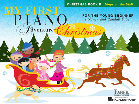 Faber Piano Adventures / My First Piano Adventure Christmas – Book B / Nancy Faber / Randall Faber / Faber Music