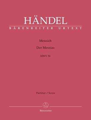 Messiah HWV 56 Oratorium In Drei Teilen / Georg Friedrich Händel / Bärenreiter
