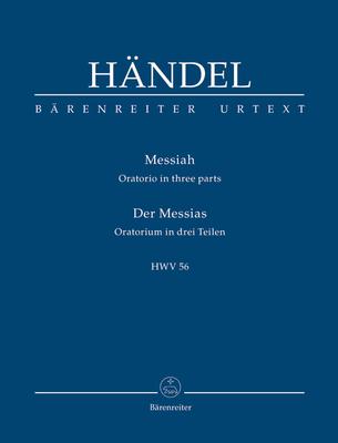 Bärenreiter Urtext / Messiah HWV 56 / Georg Friedrich Händel / Bärenreiter