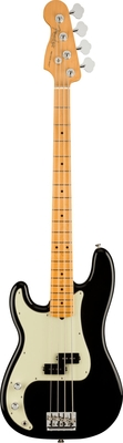 Fender American Professional II Precision Bass Left-Hand, Maple Fingerboard, Black
