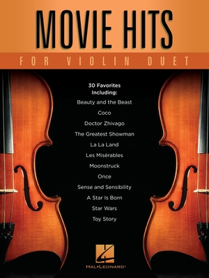 String Duet / Movie Hits for Violin Duet /  / Hal Leonard