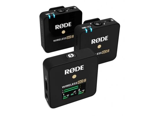 Rode Wireless GO II – Système sans fil digital