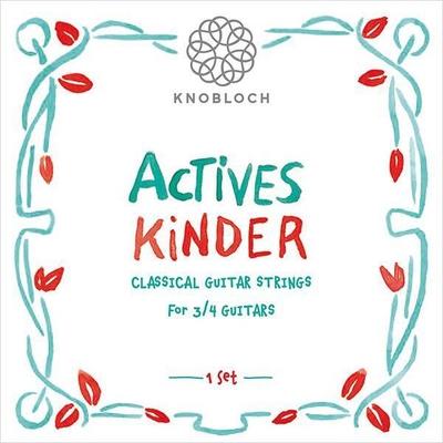 Knobloch Actives Kinder 3/4 – Set de corde pour guitare enfant
