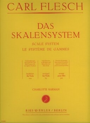 Skalensystem /  Flesch / Ries und Erler