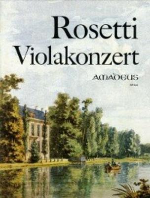 Concerto in G-dur  Murray RWV C15 – Klavierauszug / Antonio Rosetti / Amadeus