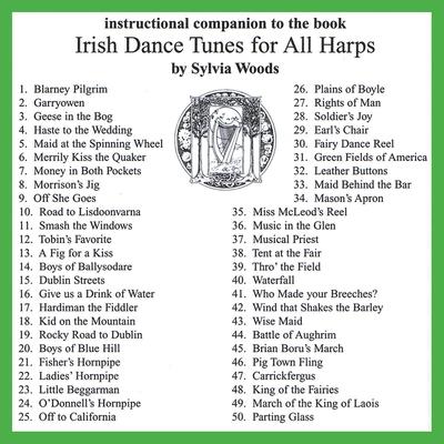 Harp / Irish Dance Tunes for All Harps Companion CD /  / Sylvia Woods