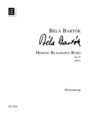 Duke Bluebeards Castle / Béla Bartk / Universal Edition