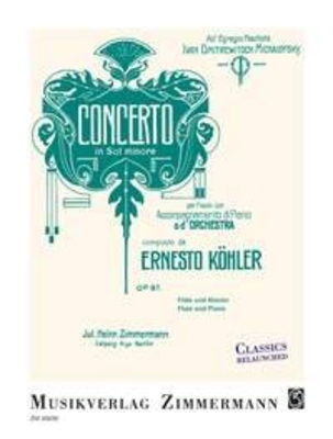 Concerto In Sol Minore Op. 97 / Ernesto Köhler / Zimmermann