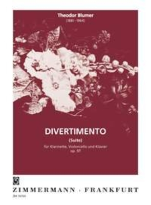Divertimento (Suite) op. 97 / Theodor Blumer / Zimmermann