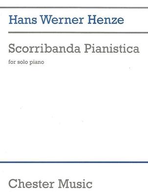 Scorribanda Pianistica (Piano Solo) / Hans Werner Henze / Chester Music