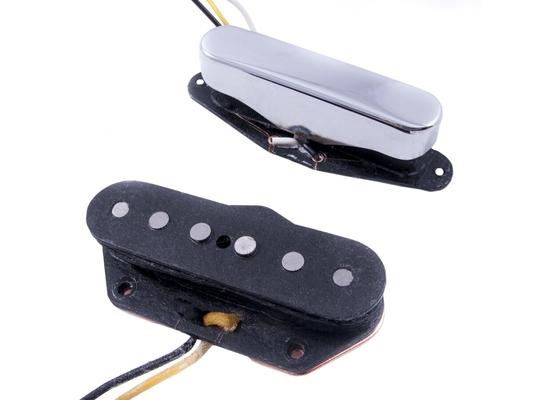 Fender Custom Shop Twisted Tele  Pickups Black/Chrome (2)