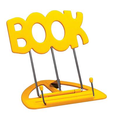 K & M 12440 Lutrin de table Uni Boy Book Jaune