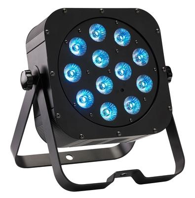 Contest irLEDFLAT-12x12SIXb Projecteur compact à LEDs six couleurs