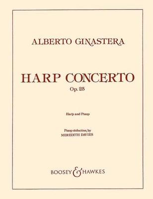 Concerto Op. 25 Harp And Piano / Alberto Ginastera / Boosey and Hawkes
