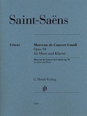 Henle Urtext Editions / Morceau de Concert f-moll Opus 94 / Camille Saint-Sans / Dominik Rahmer / Henle