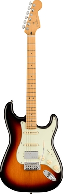 Fender Player Plus Stratocaster HSS, Maple Fingerboard, 3-Color Sunburst