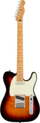 Fender Player Plus Telecaster, Maple Fingerboard, 3-Color Sunburst