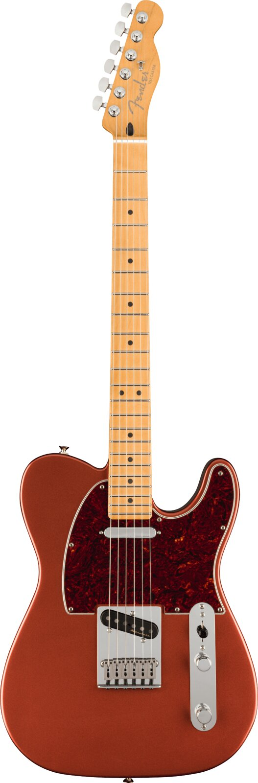 Fender Player Plus Telecaster, Maple Fingerboard, Aged Candy Apple Red : photo 1
