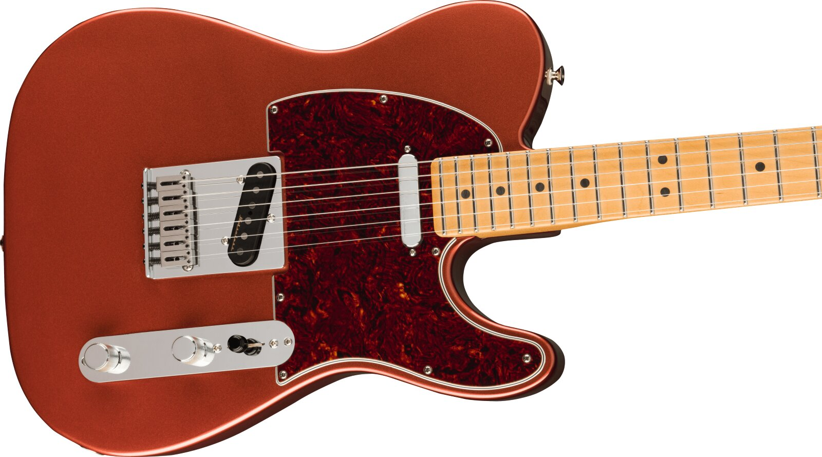 Fender Player Plus Telecaster, Maple Fingerboard, Aged Candy Apple Red : photo 3