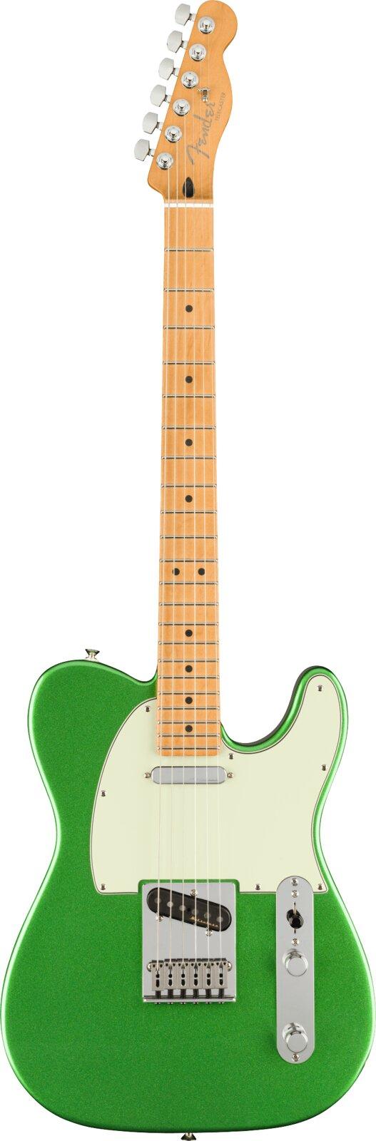Fender Player Plus Telecaster, Maple Fingerboard, Cosmic Jade : photo 1