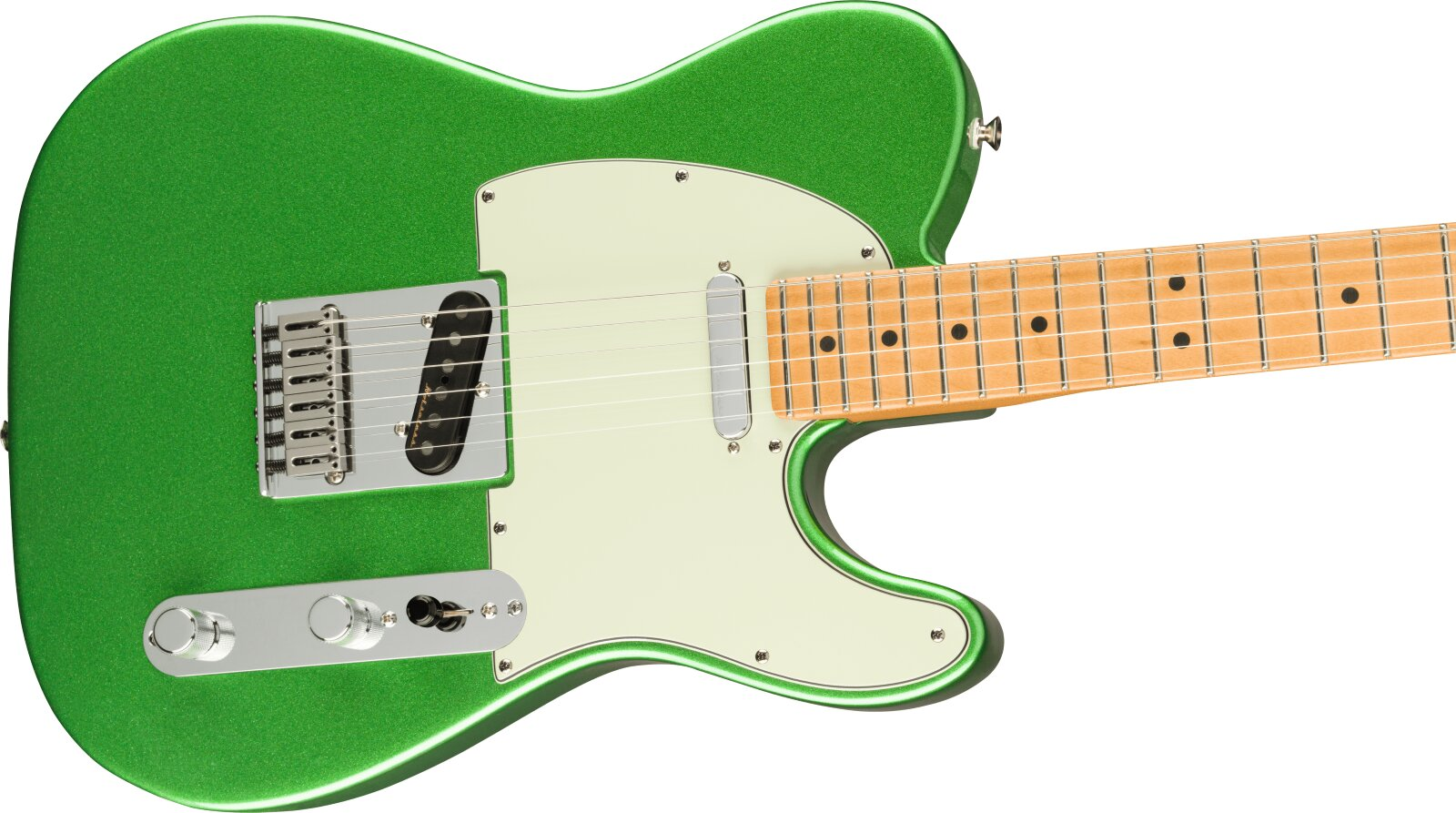 Fender Player Plus Telecaster, Maple Fingerboard, Cosmic Jade : photo 3