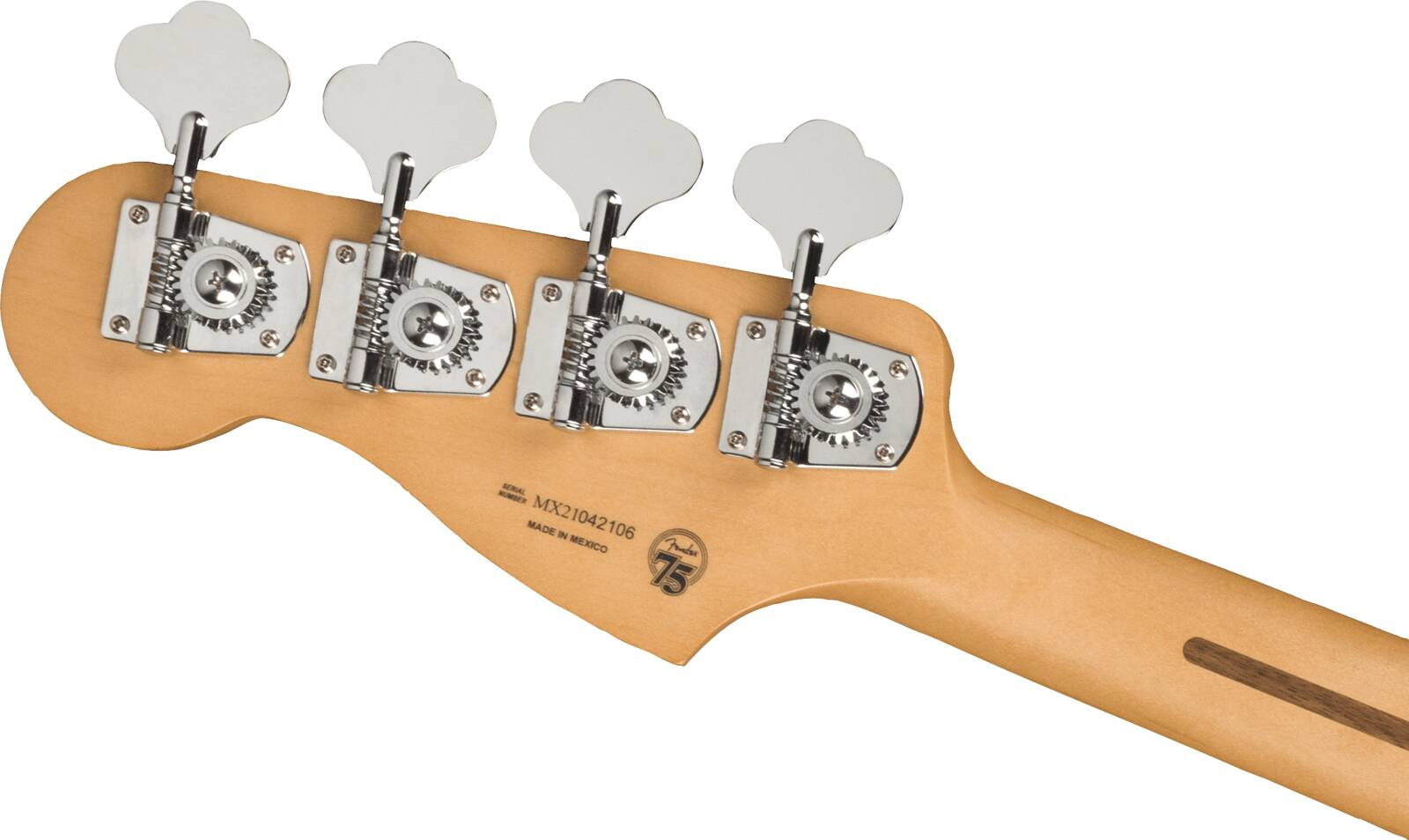 Fender Player Plus Precision Bass, Maple Fingerboard, Silver Smoke : photo 5