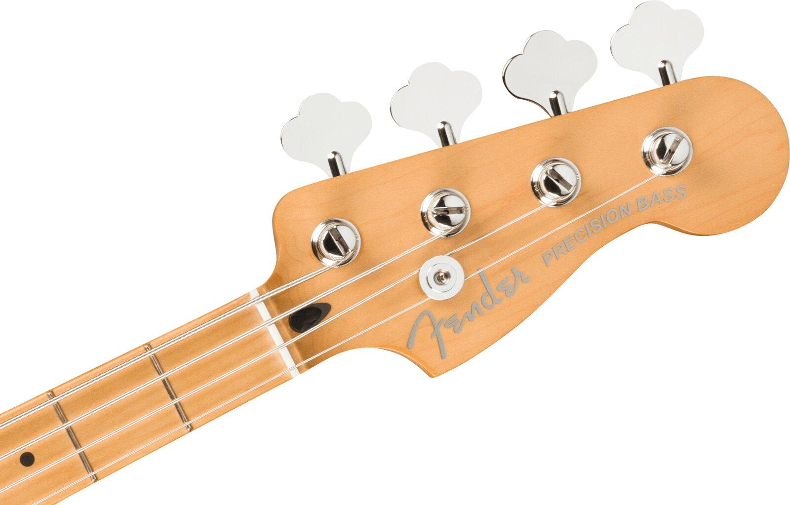 Fender Player Plus Precision Bass, Maple Fingerboard, Cosmic Jade : photo 3