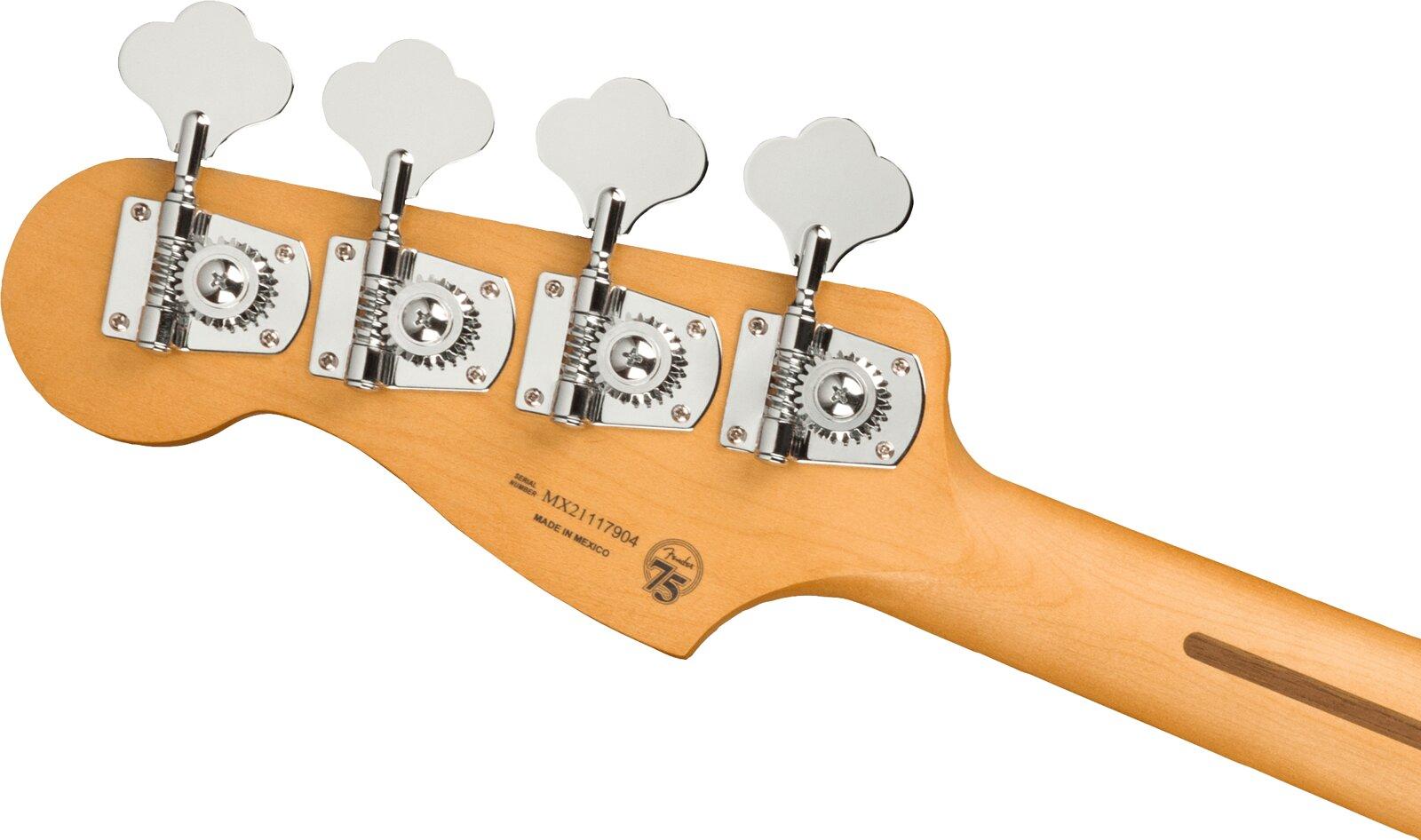 Fender Player Plus Precision Bass, Maple Fingerboard, Cosmic Jade : photo 4