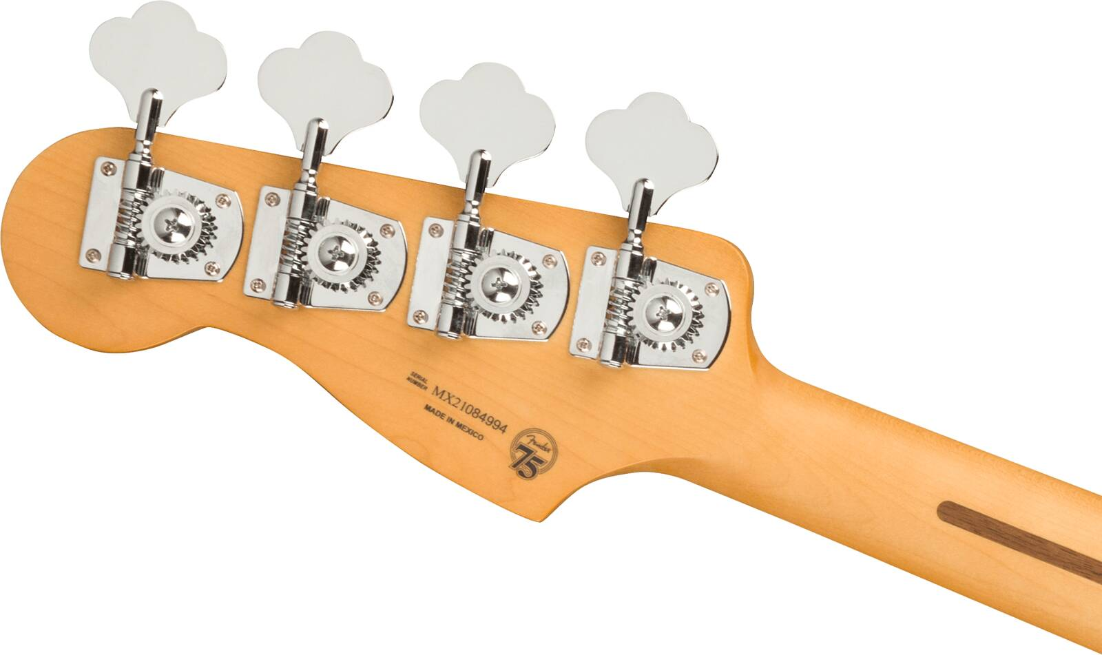 Fender Player Plus Precision Bass Pau Ferro Fingerboard, 3-Color Sunburst : photo 5