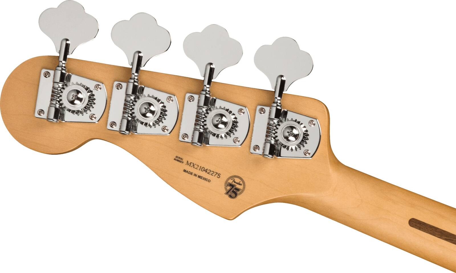 Fender Player Plus Jazz Bass, Maple Fingerboard, Olympic Pearl : photo 5