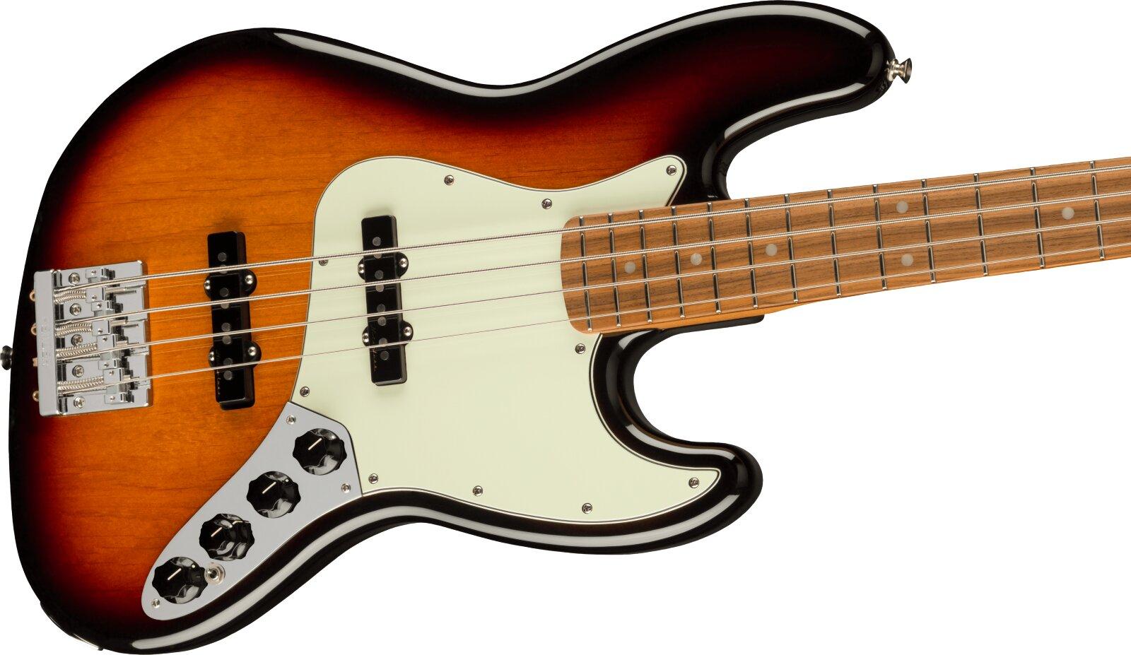 Fender Player Plus Jazz Bass, Pau Ferro Fingerboard, 3-Color Sunburst : photo 3