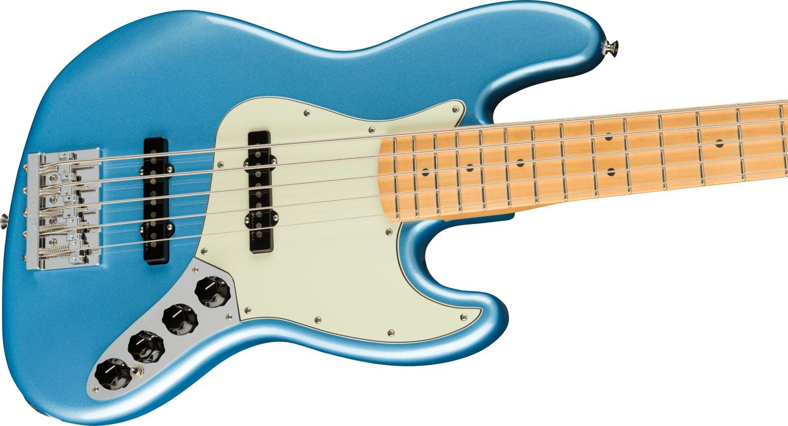 Fender Player Plus Jazz Bass V, Maple Fingerboard, Opal Spark : photo 3