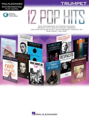 Instrumental Play-Along / 12 Pop Hits – Trumpet Instrumental Play-Along /  / Hal Leonard