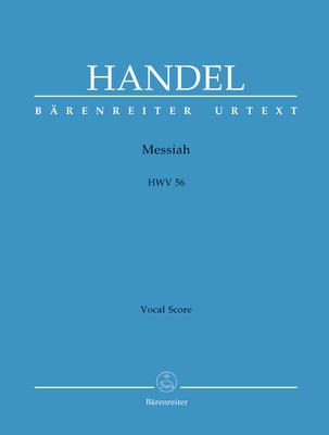 Bärenreiter Urtext / Messiah HWV 56 english version / Georg Friedrich Händel / Bärenreiter