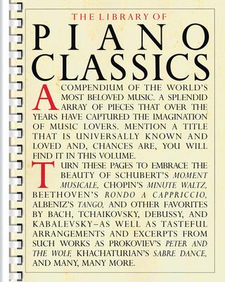Music Sales America / Library of Piano Classics Piano Solo /  / Music Sales