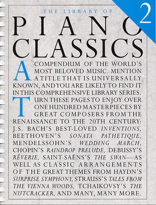 The Library Of / The Library Of Piano Classics Book 2 / Amy Appleby / Peter Pickow / Music Sales