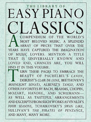 Music Sales America / Library of Easy Piano Classics /  / Music Sales