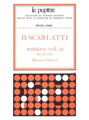 Le Pupitre – Heugel / Sonates Volume 2 K53 a K103 / Domenico Scarlatti / Kenneth Gilbert / Heugel