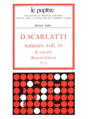 Le Pupitre – Heugel / Sonates Volume 4 K156 a K205 / Domenico Scarlatti / Kenneth Gilbert / Heugel