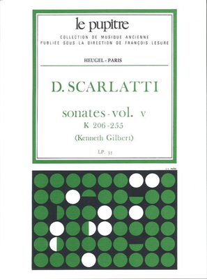 Le Pupitre – Heugel / Sonates Volume 5 K206 a K255 / Domenico Scarlatti / Kenneth Gilbert / Heugel